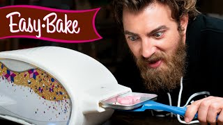 We Try Baking In An Easy Bake Oven