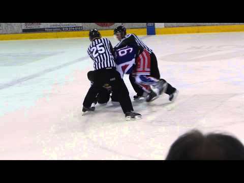 Hubert Poulin vs. Cedric Verreault