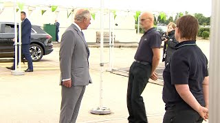 Asda employee faints in front of Prince Charles