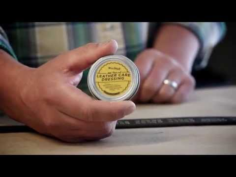 Video How to Maintain Your Vegetable-Tanned Leather Goods