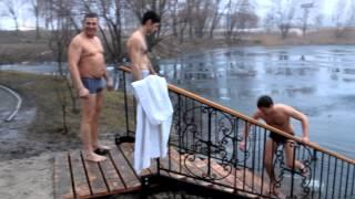 Моє купання на Водохрещення в льодовій воді