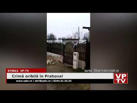 Crimă oribilă în Prahova!