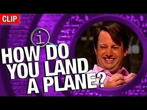QI: Jak přistanete s letadlem?