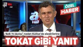 TBB Başkanı Metin Feyzioğlu eleştirilere A Haber'de yanıt verdi