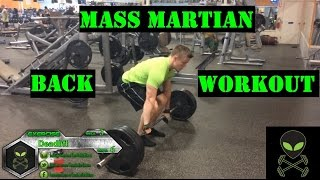 Mass Martian | Back Workout by Anabolic Aliens