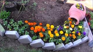 💜 GARDEN DESIGN 131 Strumien Kwiatow 💜 Stream Of Flowers