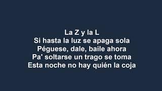 Zion Y Lennox - La Player (Bandolera) (Con Letra) Reggaeton 2018