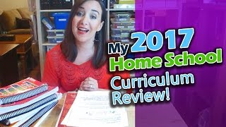 2017 Homeschool Curriculum Review (My Fathers World, Teaching Textbooks, Singapore Math,