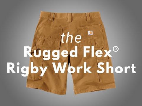 Product Spotlight: Carhartt Rugged Flex® Rigby Work Dungaree Short - 11 Inch