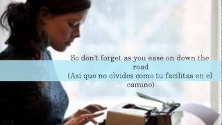 Lenka - Trouble Is A Friend Ingles/Español Lyric/Letra