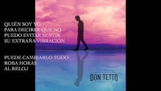 DON TETTO Quien soy yo (lyrics)