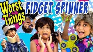 Fidget Spinner - 10 Worst Things : RELATABLE // GEM Sisters