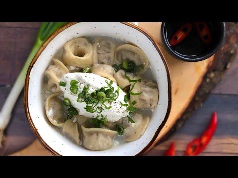 Как сделать настоящие русские пельмени - Меню ресторана MOZAIK - Смотрите как мы готовим для вас