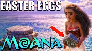 30 Easter Eggs Of MOANA You Didnt Notice