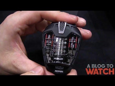 Hublot MP-05 LaFerrari Ferrari Watch Hands-On