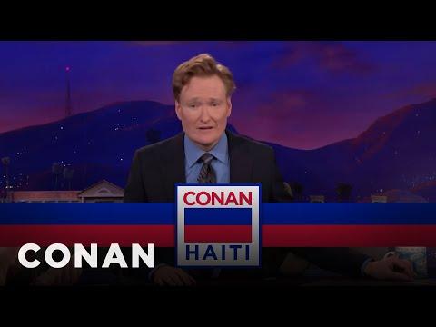 Conan se chystá na Haiti - CONAN