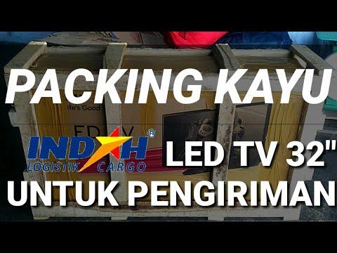 CARA PACKING LED TV UNTUK PENGIRIMAN INDAH LOGISTIK CARGO          #IndahLogistikCargo #PackingLedTv