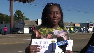 Protests spark in Jackson after the death of George Floyd