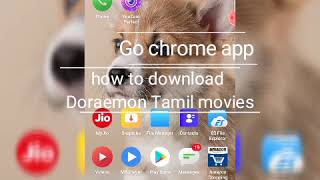 How to download Doraemon Tamil movies step by step