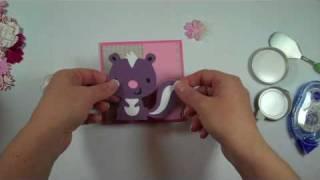 Cricut Episode 208 - Stinkin Cute (Create A Critter)