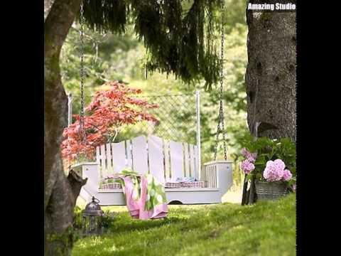 Outdoor Schaukel Garten Ideen