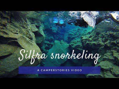 Silfra snorkeling - CamperStories