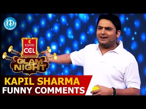Kapil Sharma Funny Comments on Stars @CCL Glam Nights