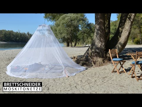 Baldachin Moskitonetz - Aufbau Outdoor | Brettschneider Moskitonetze