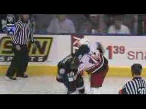 Andrew Ladd vs Shane O'Brien