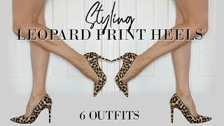 6 Outfits With Leopard Print Heels   Fashion Over 40
