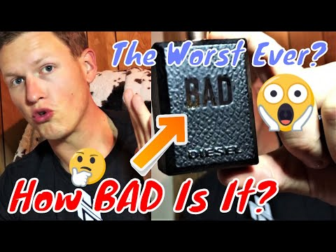 Diesel Bad Fragrance / Cologne Review (Most Disliked Fragrance Ever?)