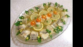 Как приготовить заливное из рыбы минтая