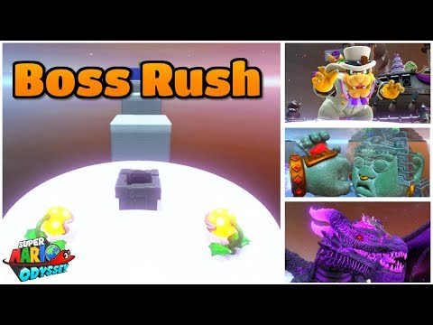 A CUSTOM BOSS RUSH LEVEL in Super Mario Odyssey - Thủ thuật