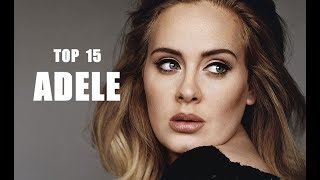 Top 15  Mejores Canciones de Adele