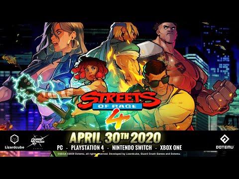 Trailer de la date de sortie de Streets of Rage 4