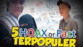 TOP 5 HOAX OR FACT: Istri Antar Suami Nikah Lagi hingga Virus Corona dari Labotarium yang Bocor?