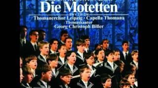J. S. Bach: Singet dem Herrn - Motette BWV 225 (Thomanerchor, Biller)