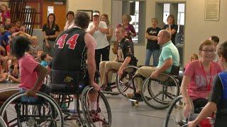 Wheelchair Basketball Game Kicks Off Disability Awareness Month