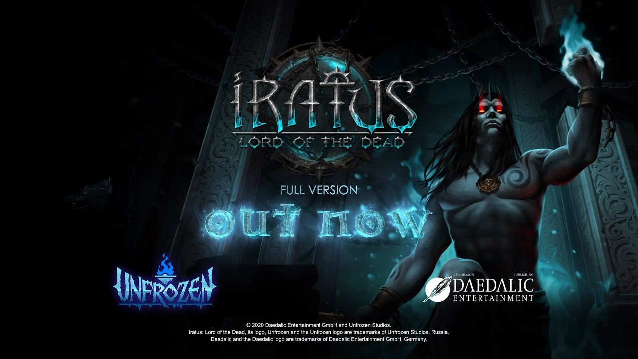 Трейлер игры Iratus: Lord of the Dead