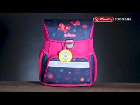 Видео 1. Ранец школьный Herlitz Loop Plus Kick it с наполнением