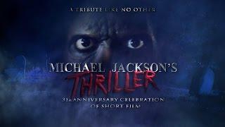 Michael Jacksons Thriller 31st Anniversary Celebration Of Short Film TRIBUTE FULL