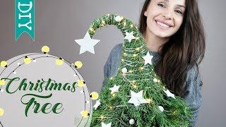 🎄 Christmas Tree DIY   how to make a Christmas Tree using natural materials DIY