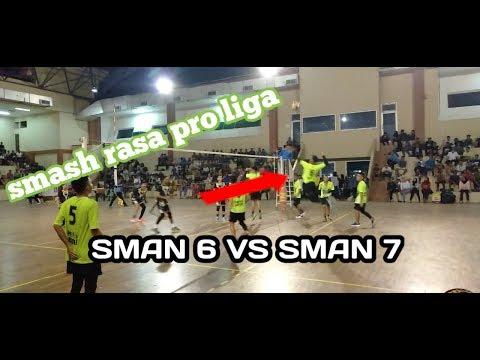 SMAN 6 VS SMAN 7 || VOLLEY BALL PUTRA || KAB. BERAU 2019