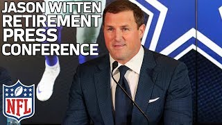 "Jason Witten, ""I relied on grit"", on Retiring from Cowboys 