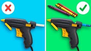 GLUE GUN IDEAS YOUVE NEVER SEEN BEFORE