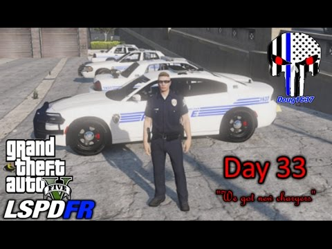 "GTA5 LSPDFR Day - 33 ""We Got New Chargers"""
