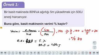 Eğitim Vadisi AYT Fizik 8.Föy Basit Makineler 1 Konu Anlatım Videoları