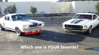 Mustang REV OFF! Pure Vision's 1969 Anvil (from Fast 6) & 1966 Martini T-5R