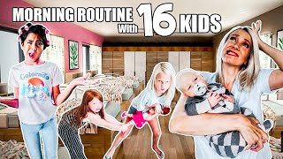 School MORNING ROUTINE with a family of 18! + Giveaway!!!