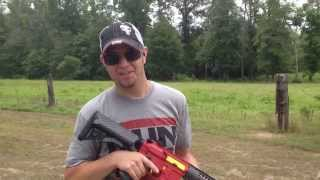Ferrari Rifle Test Fire for Zoltan Bathory of 5FDP